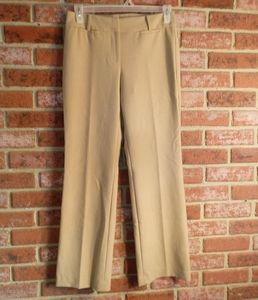 Talbots tan dress pants